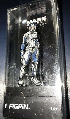 Mass Effect Andromeda Action Figures Figpin Peebe and Sara Ryder