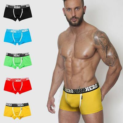 Fashion Men's Shorts Underwear Sexy Cotton Boxer Breathable Brief Hot Sale