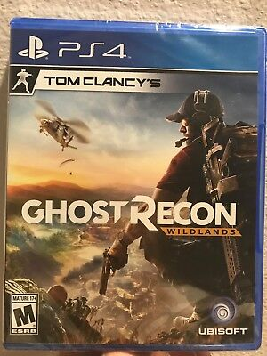 Tom Clancy's Ghost Recon Wildlands PS4 New Factory Sealed w Disc Fast Ship