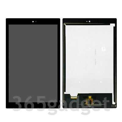 LCD Screen Digitizer Touch Assembly For Verizon 10'' QTAIR7 Ellipsis 10 + Frame