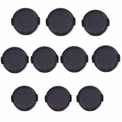 10x Universal 58mm Snap-On Front Lens Cap Cover For All Canon Nikon Sony Camera