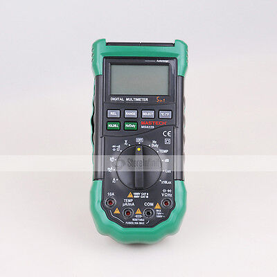Mastech MS8229 Auto Range DMM Digital Multimeters Temperature & Humidity Tester