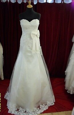 WEDDING DRESS - BRAND NEW DESIGN FROM TURKEY - Charlene 1182 - Size 12/14