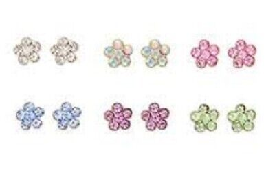 96993234a8f36 SMALL NON PIERCING Clip on Magnet Ear Stud Men Boys Crystal Magnetic ...