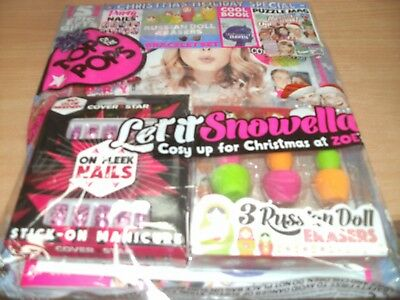 Top of the Pops magazine #296 2017 +Party Nails +Russian Doll Erasers +Quiz Book