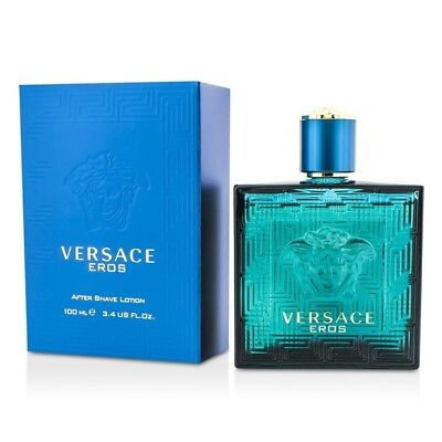 Versace Eros After Shave Lotion 100ml Mens Cologne