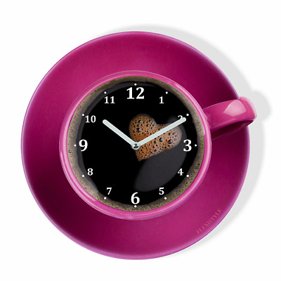 MODERN LARGE BLACK Wall Clock Home Decoration Kitchen Dining Room ...