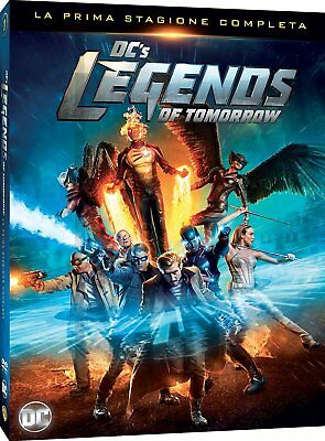 Dc's Legends Of Tomorrow - Stagione 1 (4 Dvd) Cofanetto Nuovo, Italiano