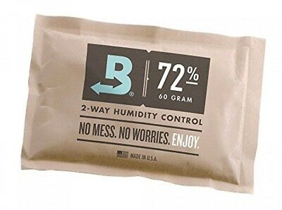 Boveda 72Percent RH Individually Over Wrapped 2Way Humidity Control Pack, 60gm