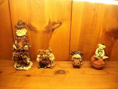 Boyds lot of 4 execunick the first global  jingle mooselbeary grenville larry