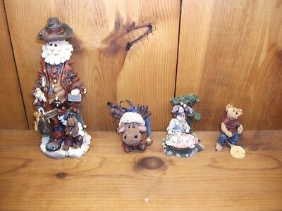 Boyds lot of 4 execunick the first global  mooselbeary ed pot hanger momma