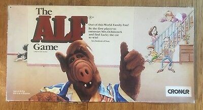 The ALF Game - Vintage Out of this World Family Fun Board Game 1987 COMPLETE *Au