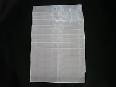500 Self Adhesive Clear Plastic Hang Tabs Tags Hanger