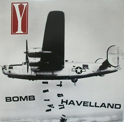 "Y ""Bomb Havelland""  LP yacöpsae,hellnation,crossed out,spazz,despise you,nasum"