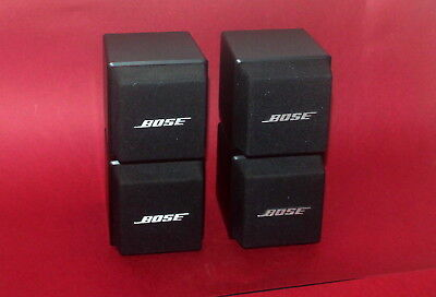 bose doppelcube lautsprecher weiss eur 110 00 picclick de. Black Bedroom Furniture Sets. Home Design Ideas