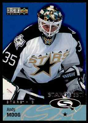 1997-98 Collector's Choice Star Quest Andy Moog #SQ34