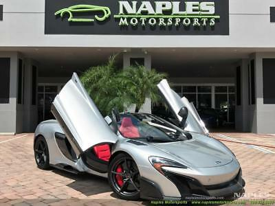 2016 McLaren Other  2016 McLaren 675LT Spider ONLY 500 PRODUCED - SUPERNOVA SILVER - COMFORT SEATS