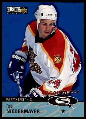 1997-98 Collector's Choice Star Quest Rob Niedermayer #SQ18