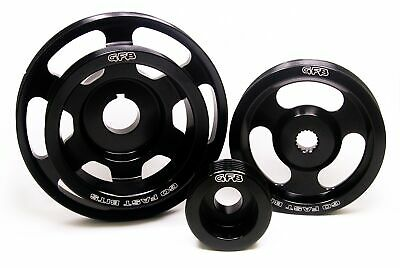 GFB Lightweight Alloy 3 Piece Underdrive Pulley Kit for Impreza GR GH GJ WRX STi