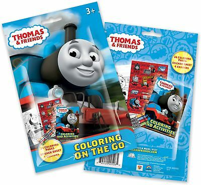 Thomas and Friends Coloring Pouch Set (Each) - Party Supplies