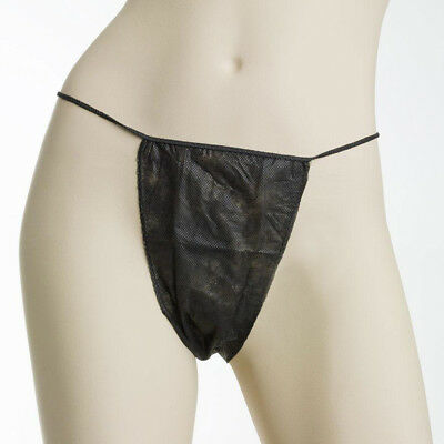 Spray Tan noir jetable G-Strings (50)