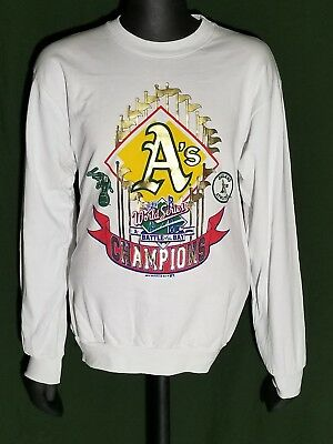 1989 World Series Battle of the Bay A's vs Giants Oakland Champs Sweatshirt