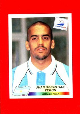 WC FRANCE '98 Panini 1998 - Figurina-Sticker n. 507 - VERON -ARGENTINA-New