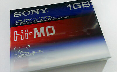 SONY Mint condition  Hi-MD 1GB High Capacity Media Blank Recordable Mini Disc