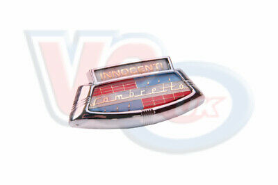 1 x 35mm  CAVALLI VIGANO Accessory Badge LAMBRETTA INNOCENTI B35.080