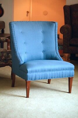 Harvey Probber Slipper Chair, VINTAGE, EXCELLENT Condition, Smoke-free, Pet-free