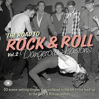 V/A Rhythm and Blues - The Road To Rock and Roll Vol 2 - Dangerous Lias [CD]