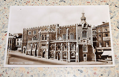 Rare?  Vintage  Postcard of The Guildhall, Norwich RP