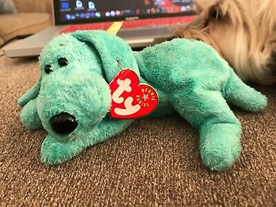 Ty Beanie Baby ~ DIDDLEY the DOG 2000 ~ MINT with TAGS ~ RETIRED