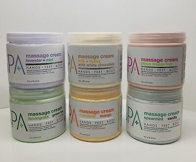 BCL Spa Massage Cream 16 oz (choose your scent) 100% Organic