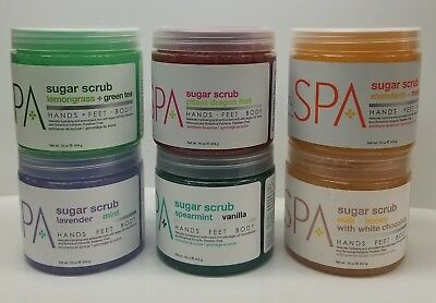 BCL Spa Sugar Scrub 16 oz (choose your scent) 100% Organic
