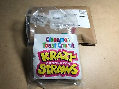 Krazy Straws - Cinnamon Toast Crunch Mail In Promo from General Mills - Sealed