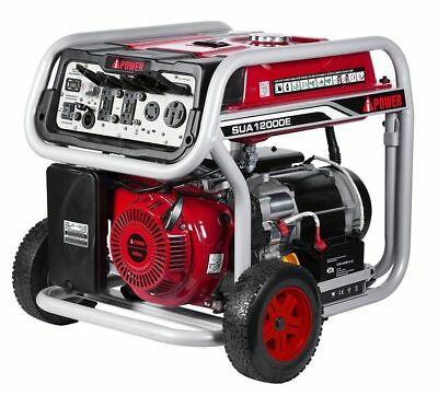 Pick Up A-iPower 12000W Gas Powered Portable Electric Start Generator SUA12000E