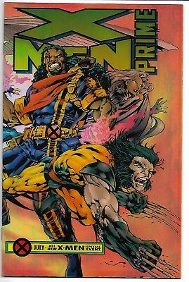 X-Men Prime #1 Nm Age Of Apocalypse Wrap-Around Acetate Cover Marvel Comics