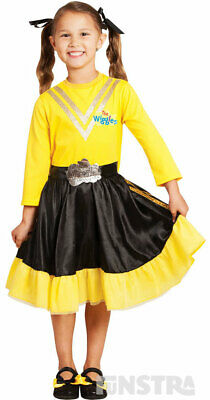 Emma Wiggle Costume | The Wiggles Costume Dress Up Yellow | The Wiggles Costumes