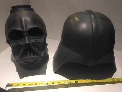 DARTH VADER helmet and mask STAR WARS casting flawed resin