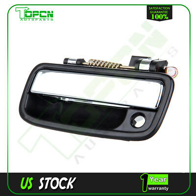 1Pc for 95-04 Toyota Tacoma Black Exterior Door Handle Front Left Driver Side