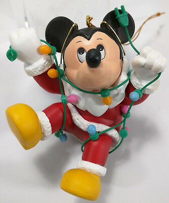 Grolier Collectible Walt Disney MICKEY MOUSE Christmas Ornament with BOX