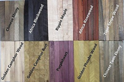 Selectable-A Pack Of 5 Wood Turning Blanks 127mmX15mmX15mm