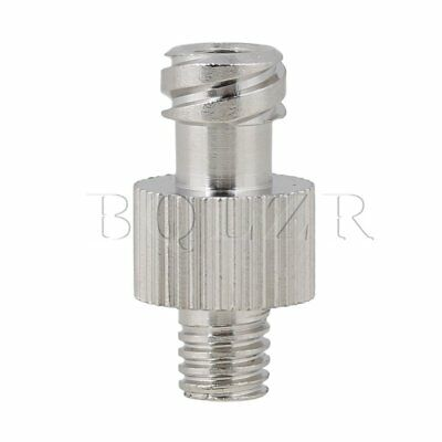 Metal Adapter Dispensing M5 Screw Blunt Needle Glue Silver BQLZR