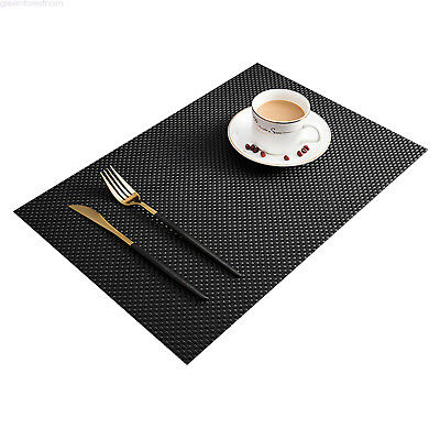 Arzoe 4X PVC Dining Placemats Table mat Pad Mat  AuSeller Fast 2 Colors