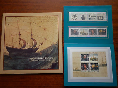 Navigators And Shipwrecks Album And Stamps  Unopened