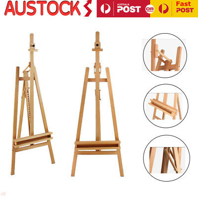 Wooden Easel Wood Artist Easels Display Stand Art Painting Canvas Tripod 235cm