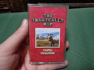 THE TRAGICALLY HIP_Road Apples_used cassette_ships from AUS!_zz61_C2