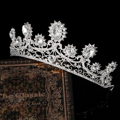 Crown Wedding Bridal Rhinestone Tiara Princess Headband Jewelry Hair Accessories