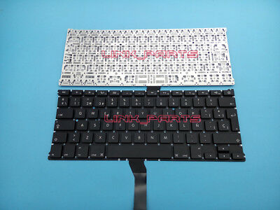 "NEW SP spanish Keyboard for Apple Macbook Air 13.3"" A1369 A1466 A1405 MC965"